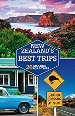 Loneley Planet New Zealand Road Trips - Travel Guidebook